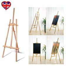 NEW!1500mm Wooden Pine Tripod Studio Canvas Easel Art Stand A3 A4 Wedding