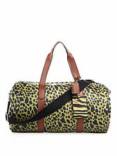 COACH Pebbled Leather Duffle Bag- Animal Print-UNISEX-NWT-MSRP $695-AUTHENTIC