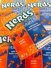 Wonka Nerds Wildberry & Peach Candy Gift Set 20 Packs FREE SHIPPING