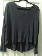 HIGH LOW THERMAL LONG SLEEVE GRAY SHIRT SIZE M