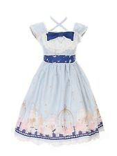 JSK-25-2 Blau Tea-Time Party Alice Wonderland Sweet Pastel Goth Lolita Kleid