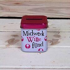Midweek Wine Fund Money Tin by Bright Side (New Design)