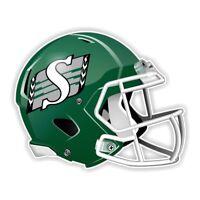 Saskatchewan Roughriders Football Helmet Decal / Sticker Die cut for Windows Car