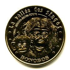 86 ROMAGNE La Vallée des Singes 6, Bonobos, 2011, Monnaie de Paris