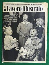 Rivista/Magazine IL LAVORO ILLUSTRATO n. 3/1952 , Ed.Atlante