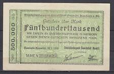 Hamborn-Neumühl - Steinkohlenbergwerk Sindacato Neumühl - 500 Mille Mark