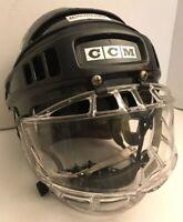 CCM SM-15 Ice Hockey Helmet w/ ITECH CONCEPT 2 JR Full Face Shield & Chin strap
