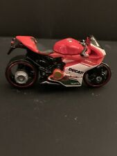 Hot Wheels Red Ducati 1199 Panigale Diecast 1/64 Scale Motorcycle