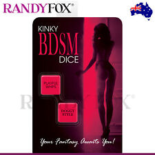 NEW Kheper Games Kinky BDSM Adult Dice Game