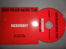 Farin Urlaub Racing Team FURT/Nichimgriff 2008 Promo Die Ärzte 1-Tr./MCD