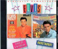 Elvis Presley Love In Las Vegas / Roustabout CD soundtracks. Spanish pressing