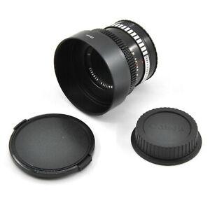 CLA'd Meyer-Optic Gorlitz Oreston 50mm F1.8 Cine Modded Lens For Canon EF Mount!