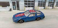Vintage Unbranded Toys 108 Blue Nissan 300ZX 1/64 scale Diecast JDM Car