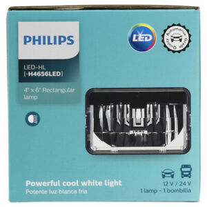 Headlight Bulb-Base Philips H4656LED