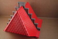 Playmobil Dach groß rot mit Giebel zu 3268 Königsritterburg Ritterburg #4549