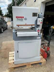 Axminster Trade series wide belt sander  230v. Perfect Order.Amazing condition