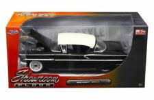 "JADA 1958 CHEVROLET IMPALA BLACK ""SHOWROOM FLOOR"" 1/24 DIECAST MODEL CAR 98895"