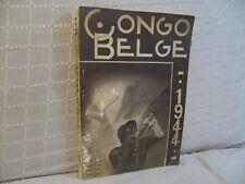 Congo belge 1944 édité par le service d'informations et de propagande
