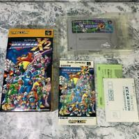 Rockman X2 Nintendo Super Famicom Japan good condition box manual