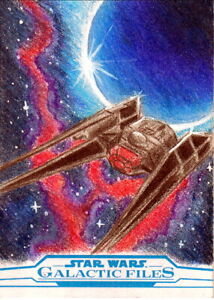 Star Wars:The Galactic Files Sketch by Madison Emerick