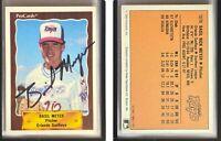 Basil Meyer Signed 1990 CMC #755 Card Orlando SunRays Auto Autograph