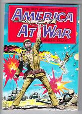 DC FIRESIDE: AMERICA AT WAR, BEST OF DC WAR COMICS, TRADE PAPERBACK, 1ST, 1979