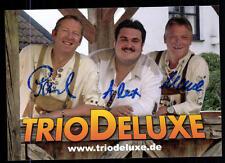 Trio Deluxe Autogrammkarte Original Signiert ## BC 54674