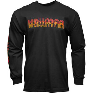 Thor-Hallman Long Sleeve T-Shirt (Black) Choose Size