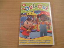 dvd oui-oui n° 8 le cadeau ideal de oui-oui, la grande parade, un minuscule gran