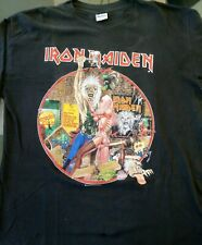 """Iron Maiden - """"Bring your Daughter to the Slaughter"""" long sleeve vintage t-shirt"""