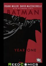 BATMAN YEAR ONE DELUXE GRAPHIC NOVEL by Frank Miller - 1st Year Fighting Crime