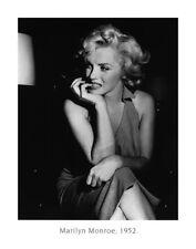 Marilyn Monroe 1952 Fotografie Bild Poster Kunstdruck Deko Foto 56x71 Neu