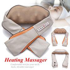 6 Key Electrical Massage Back Neck Shoulder Therapy Body Shiatsu Cushion