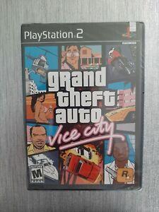 🔥🔥 RARE 1sT PRINT 🔥🔥 GTA 🔥🔥 PLAYSTATION 2 PS2  GRAND THEFT AUTO VICE CITY