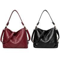 Women Bag Soft PU Leather Messenger Totes Crossbody Handbags Shoulder Bags R1BO