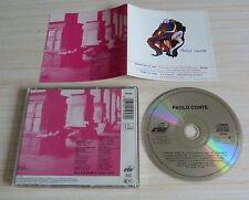 RARE CD ALBUM PAOLO CONTE 11 TITRES 1981