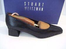 *Womens STUART WEITZMAN Black Pyrite Pumps Shoes Size. 7 AA NEW!