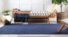 Braided Home 3 x 5 Ft Decorative Natural Jute Handmade Floor Reversible Rag Rugs