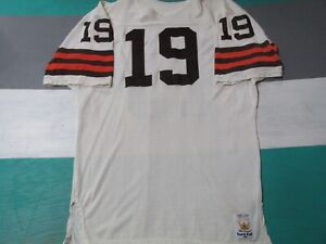 Cleveland Browns Kernie Kosar Sand Knit Game Issued Pro Cut Jersey 48 Autograph