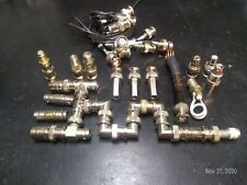 New listing Bnc mixed and various connectors: elbows, unions, tees, audio, 50 ohm terminator