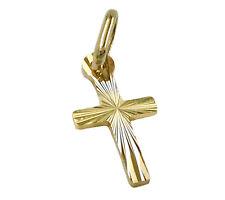 585 ECHT GOLD ***  Kreuz Anhänger Kreuzanhänger winzig, 14 mm