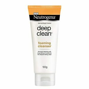 Neutrogena Deep Clean Foaming Cleanser For Normal To Oily Skin, 100g 9149