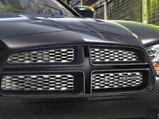 2011-2014 Dodge Charger Gloss Black Smoke Chrome Grille Mopar 82212422 OEM