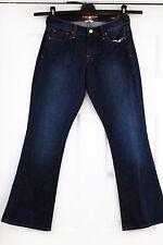 "New Lucky Brand Sofia Boot Dark Blue Jeans Denim 4/27 Regular, Inseam - 30"""