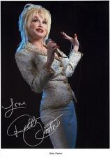 DOLLY PARTON AUTOGRAPHED SIGNED A4 PP POSTER PHOTO