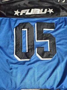 FUBU /DMX VINTAGE FOOTBALL JERSEY HIP HOP CLOTHING SIZE XL