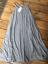 COS GREY LYCOCELL TRAPEZE DRESS -M