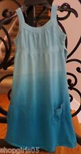 Girls MOSSIMO SUPPLY CO. Blue Tie Sye Dress- Size Small