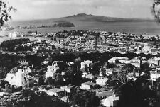 Vtg 1920's B&W  Photo - View From Mt. Eden Auckland N.Z. New Zealand #830
