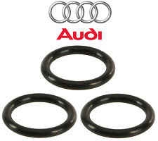 For Audi A4 S4 VW Passat Set of 3 Water Pipe Seal 30 X 5 mm Genuine N 905 607 01